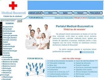medical-bucuresti.ro screenshot
