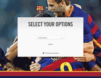 m.shop.fcbarcelona.com screenshot