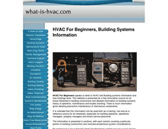 what-is-hvac.com screenshot