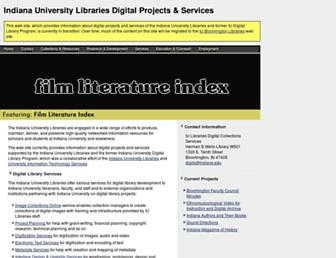 dlib.indiana.edu screenshot