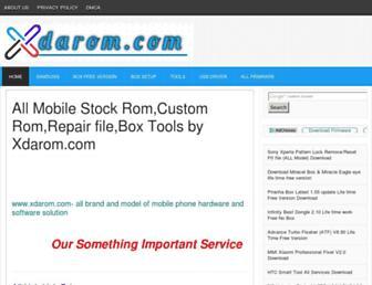 xdarom.com screenshot