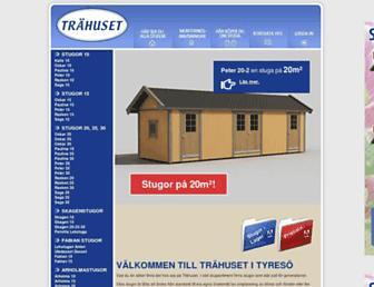 Main page screenshot of friggebodar.no
