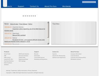 pro-face.com screenshot