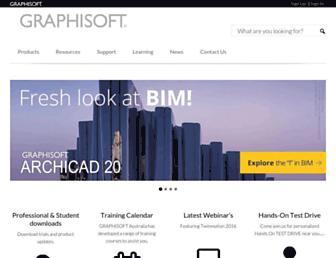 graphisoft.com.au screenshot