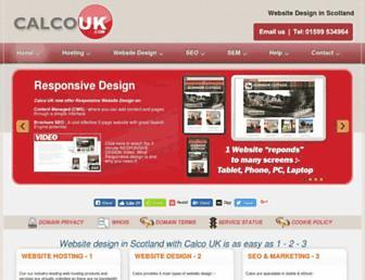 calcouk.com screenshot