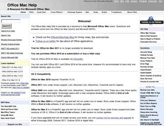 office.mvps.org screenshot