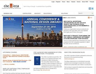 cisc-icca.ca screenshot