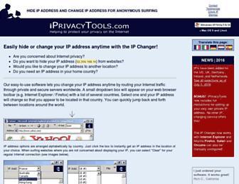 Thumbshot of Iprivacytools.com