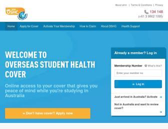 ahmoshc.com.au screenshot