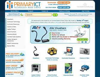 primaryict.co.uk screenshot