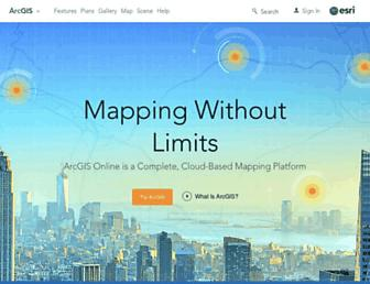doc.arcgis.com screenshot