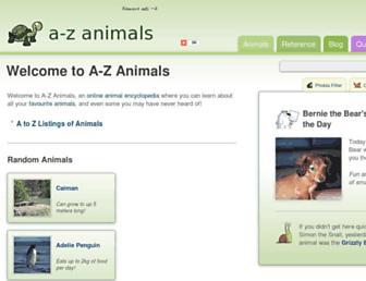 Thumbshot of A-z-animals.com