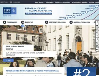 Thumbshot of Escpeurope.eu