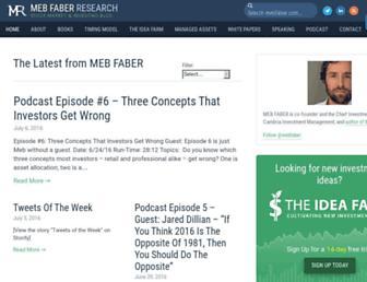 mebfaber.com screenshot