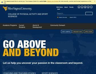cpass.wvu.edu screenshot