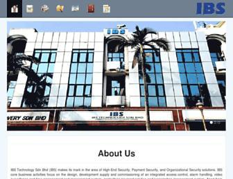 ibstech.com.my screenshot