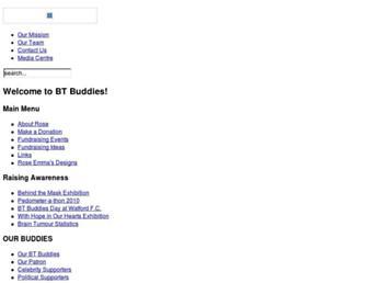 Main page screenshot of rosemcgill.co.uk