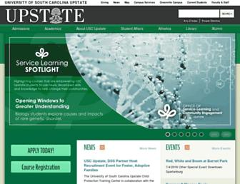Thumbshot of Uscupstate.edu