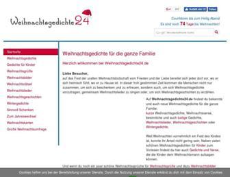 Thumbshot of Weihnachtsgedichte24.de