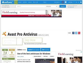 avast-pro.en.softonic.com screenshot
