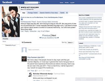 facebooksexiest.blogspot.com screenshot