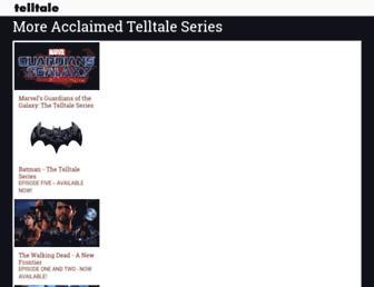 telltale.com screenshot