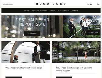 group.hugoboss.com screenshot