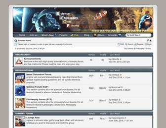 sciencechatforum.com screenshot