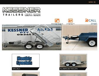 kessnertrailers.com.au screenshot