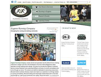 eugenerunningcompany.com screenshot
