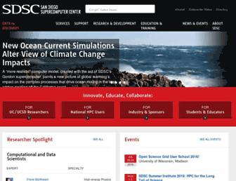 Thumbshot of Sdsc.edu