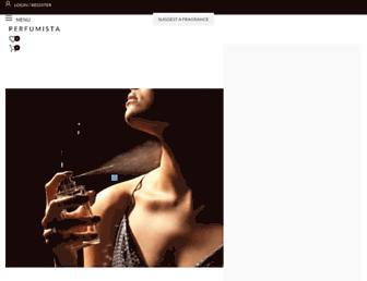 perfumista.co.uk screenshot