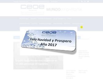 ceoe-tenerife.com screenshot