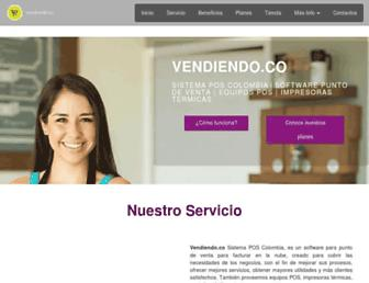 vendiendo.co screenshot
