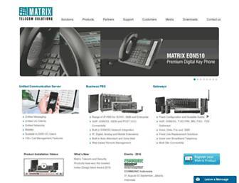 matrixtelesol.com screenshot