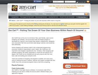 Thumbshot of Zen-cart.com