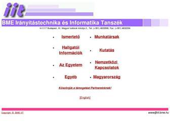 fsz.bme.hu screenshot