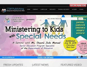 csm-publishing.org screenshot