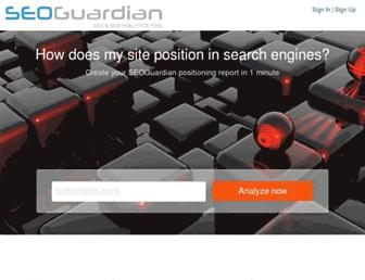 uk.seoguardian.com screenshot
