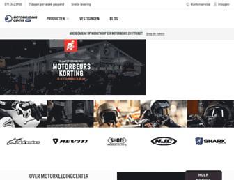motorkledingcenter.nl screenshot