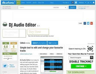 dj-audio-editor.en.softonic.com screenshot