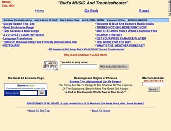 budallen.com screenshot