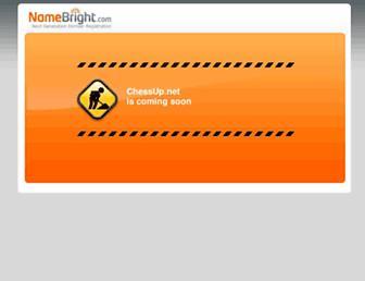 Main page screenshot of chessup.net