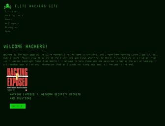 elite-hackers.com screenshot