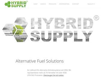 hybridsupply.de screenshot