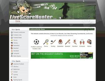 Thumbshot of Livescorehunter.com