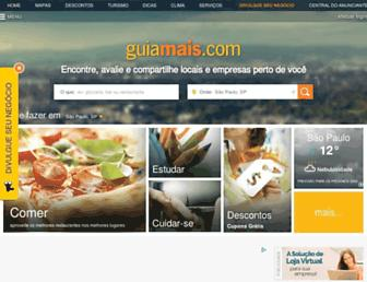 guiamais.com.br screenshot
