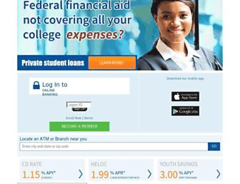 Main page screenshot of greateralliance.org