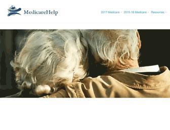 medicarehelp.org screenshot