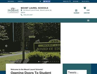 mtlaurelschools.org screenshot